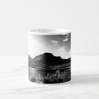 Bealach Na Ba By Loch Kishorn Mug (BW)