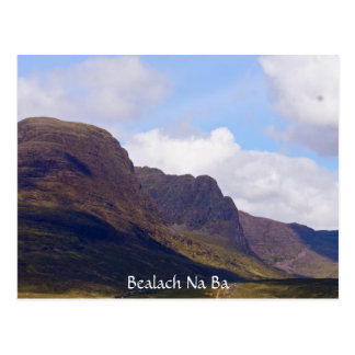 Bealach Na Ba by Loch Kishorn Postcard