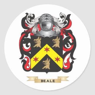 Beale-2 Coat of Arms (Family Crest) Stickers