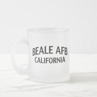 Beale AFB California Taza De Cristal