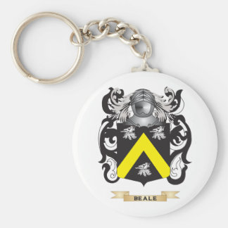 Beale Coat of Arms Family Crest Keychain