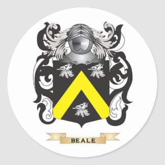 Beale Coat of Arms (Family Crest) Stickers