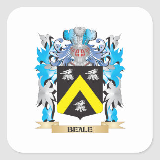 Beale Coat of Arms Stickers