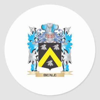 Beale Coat of Arms Round Sticker