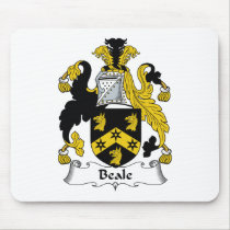 Beale Family Crest Mousepad
