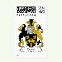 Beale Family Crest Stamps