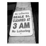Beale n Blues Series Postcard
