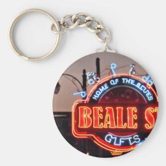 Beale Street Keychain