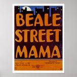 Beale Street Mama Print