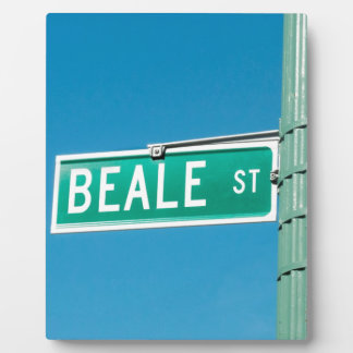 Beale Street sign Plaque