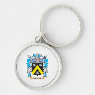 Beales Coat of Arms Keychain