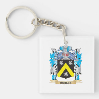 Beales Coat of Arms Acrylic Keychains