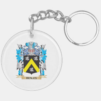 Beales Coat of Arms Acrylic Key Chain