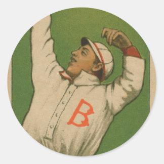 Beals Becker, Boston Doves Classic Round Sticker