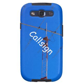 Beam Antenna and Callsign Samsung Galaxy SIII Covers