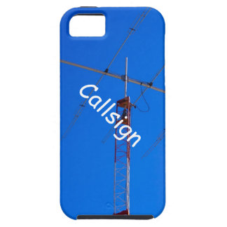 Beam Antenna and Callsign iPhone 5 Case