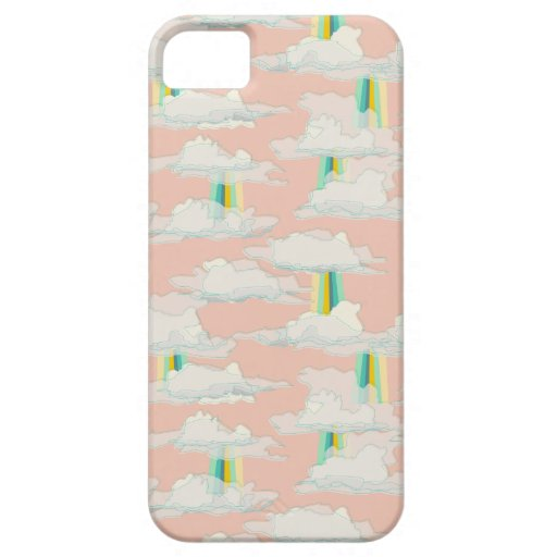 beam key lime & shortcake clouds & sunbeams case for iPhone 5/5S