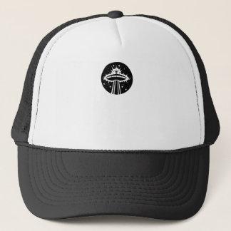 Beam Me Up Alien Trucker Hat