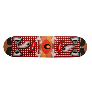 Beam me up dotty skate deck