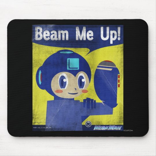 Beam Me Up! Mouse Pad