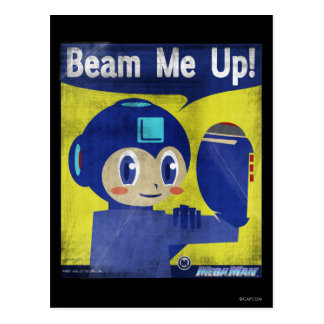 Beam Me Up! Postcard