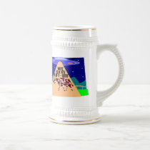 Beam Up Cow Beer Stein