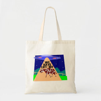 Beam Up Cow Tote Bag