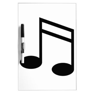 Beamed 16th Notes Dry-Erase Board