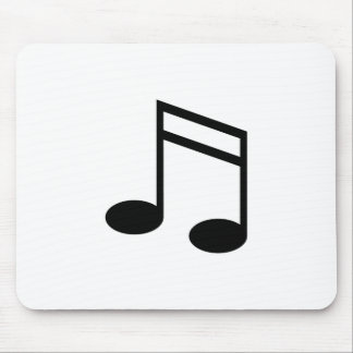Beamed 16th Notes Mouse Pad