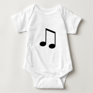Beamed 8th Note Baby Bodysuit
