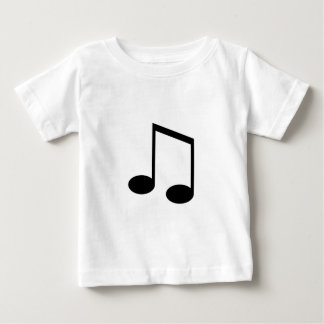 Beamed 8th Note Baby T-Shirt