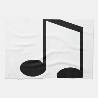 Beamed 8th Note Hand Towel
