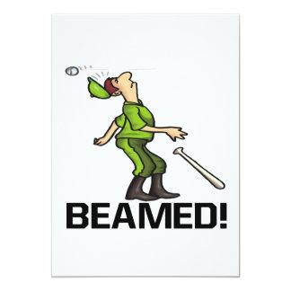 Beamed Card