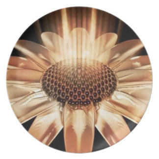 Beaming Daisy Plate