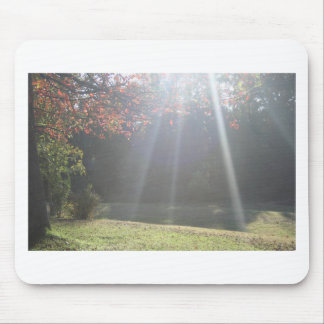 Beaming Sun Rays Mouse Pad