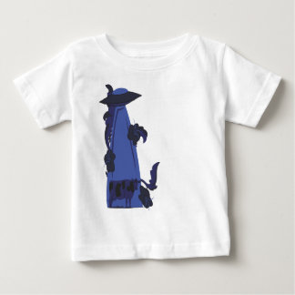 beaming up cow blue baby T-Shirt