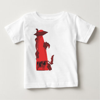 beaming up cow red baby T-Shirt