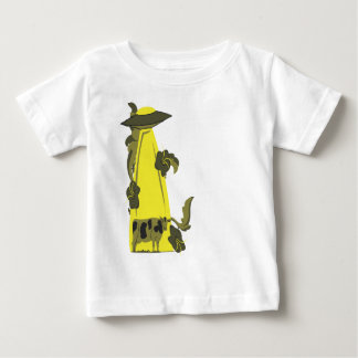 beaming up cow yellow baby T-Shirt