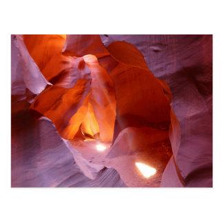Beams en la Lower Antelope Canyon, Slot Canyon,