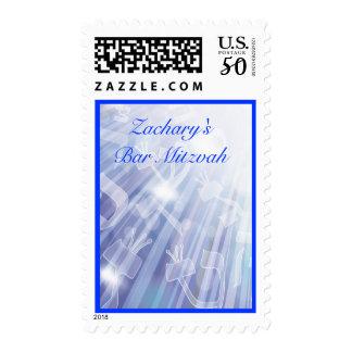 BEAMS OF LIGHT Matching Postage Stamp