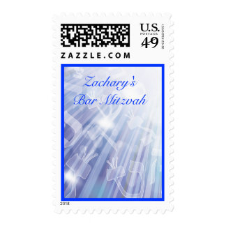 BEAMS OF LIGHT Matching Postage Stamp