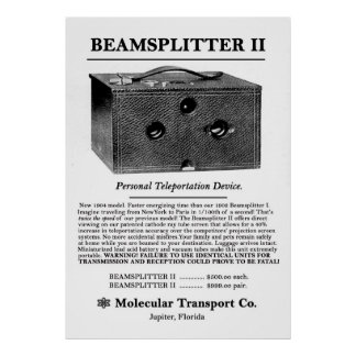 Beamsplitter II. Print