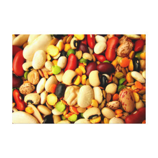 BEAN ART CANVAS STRETCHED CANVAS PRINT