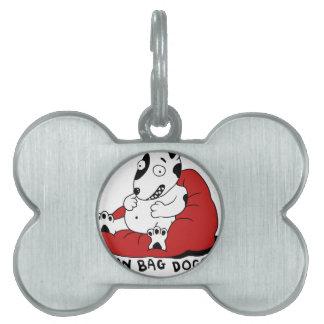 Bean Bag Doggy Pet Tag