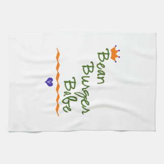 Bean Burger Babe Towel