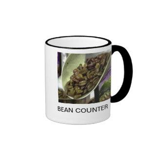 BEAN COUNTER 2 CUP RINGER COFFEE MUG