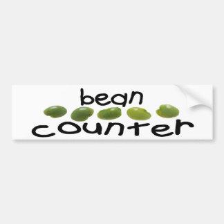 BEAN COUNTER bumper sticker