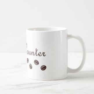Bean Counter Classic White Coffee Mug