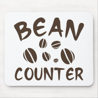 Bean Counter Mouse Pad