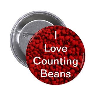 Bean Counter Pinback Button